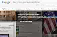 """Google lanzó el sitio """"Recursos de Google para Periodistas"""" en idioma español"""