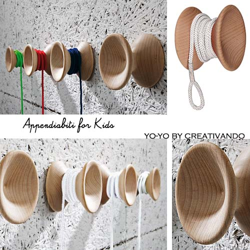Appendiabiti for kids #2: Blog Arredamento Interior Design Lifestyle
