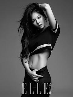 HyunA 현아 Elle Korea Pictures 5