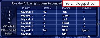 kontrol keyboard Little Fighter 2 - rev-all.blogspot.com