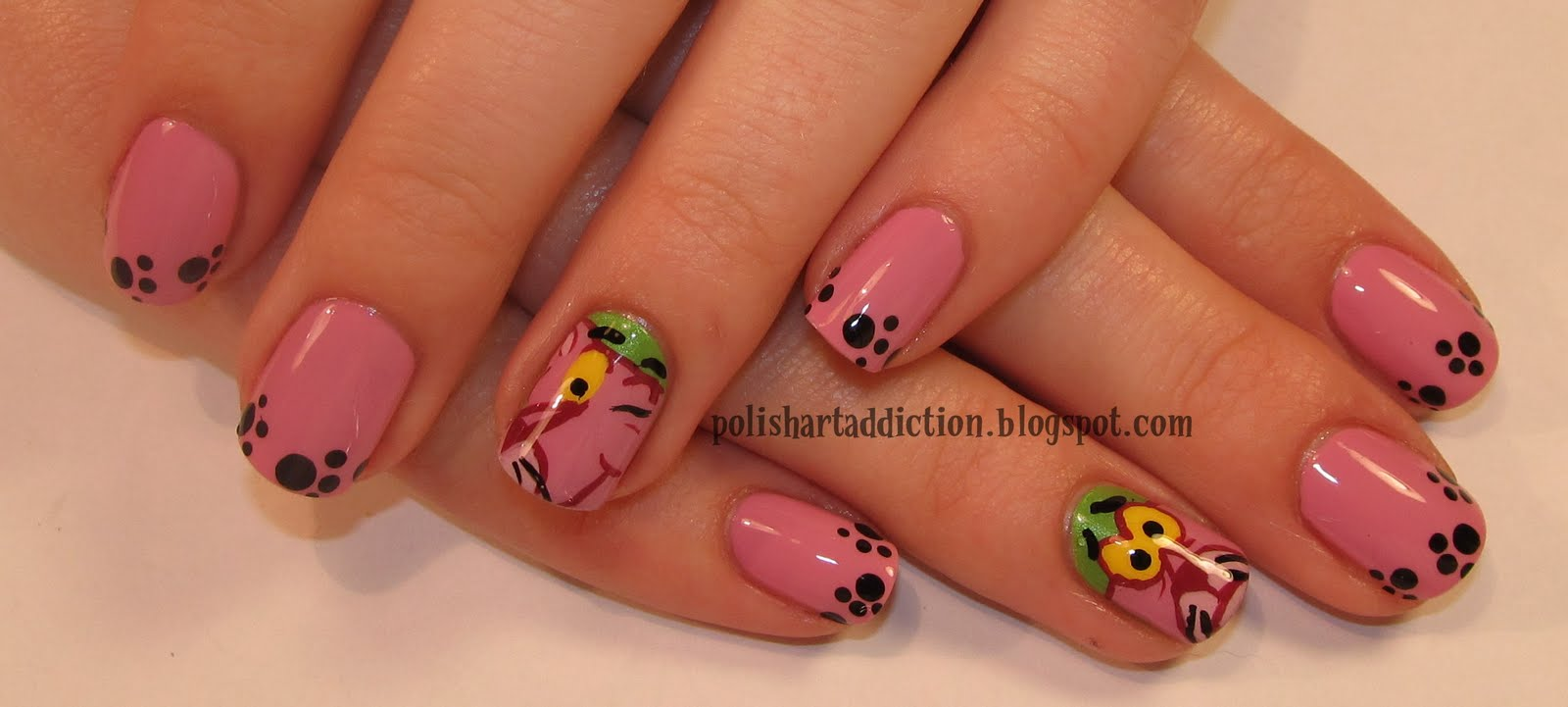 Home » Black Leopard Nails