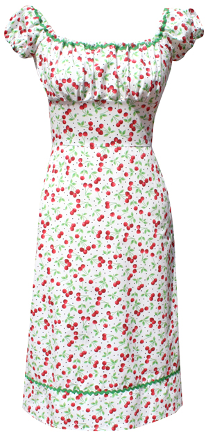 Dollydagger White Cherry Gypsy Dress 18