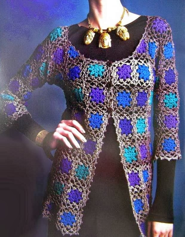 Crochet Sweaters: Crochet Cardigan Pattern For Women ...