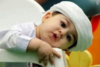 Kids Images With white Dress & Cap - Babies Pictures