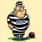 Disfraz de preso hecho en casa.