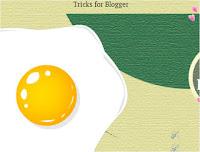 Cara Membuat Efek Telur Ceplok di Blog