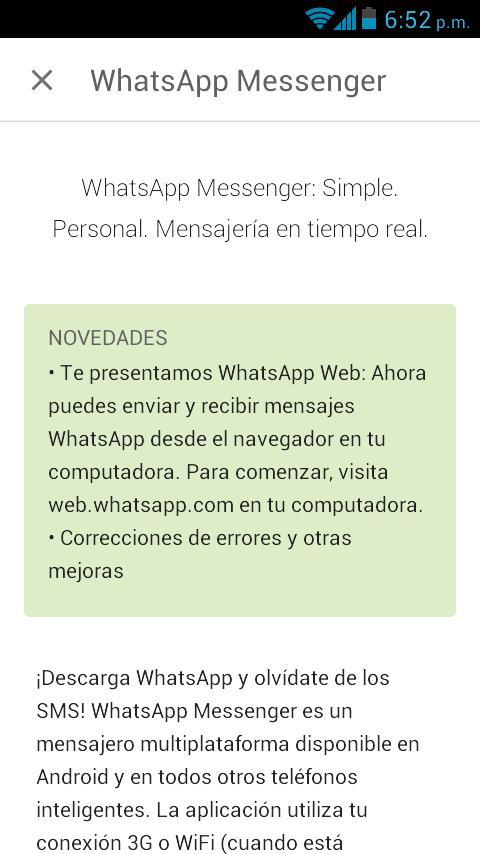 Descargando Whatsapp_versión_2.11.498_novedades