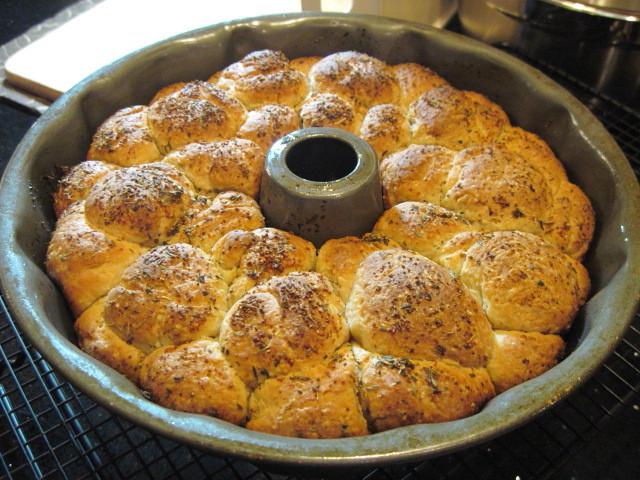 Herb Monkey Bread Recipe