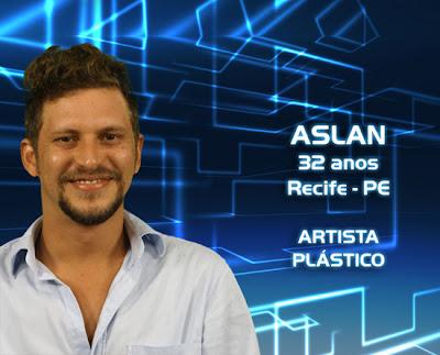 Lista de participantes do BBB 13 - Aslan - Recife PE - Flagras - Fotos