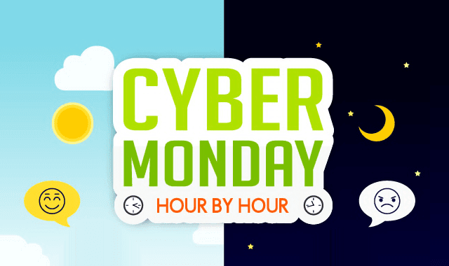 Cyber Monday Hour by Hour