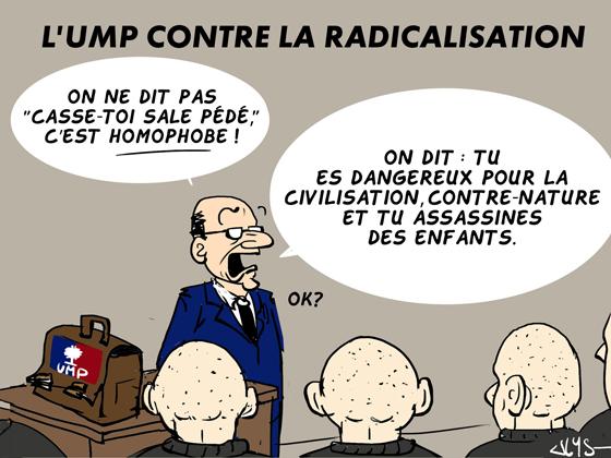L'UMP contre la radicalisation ULYS