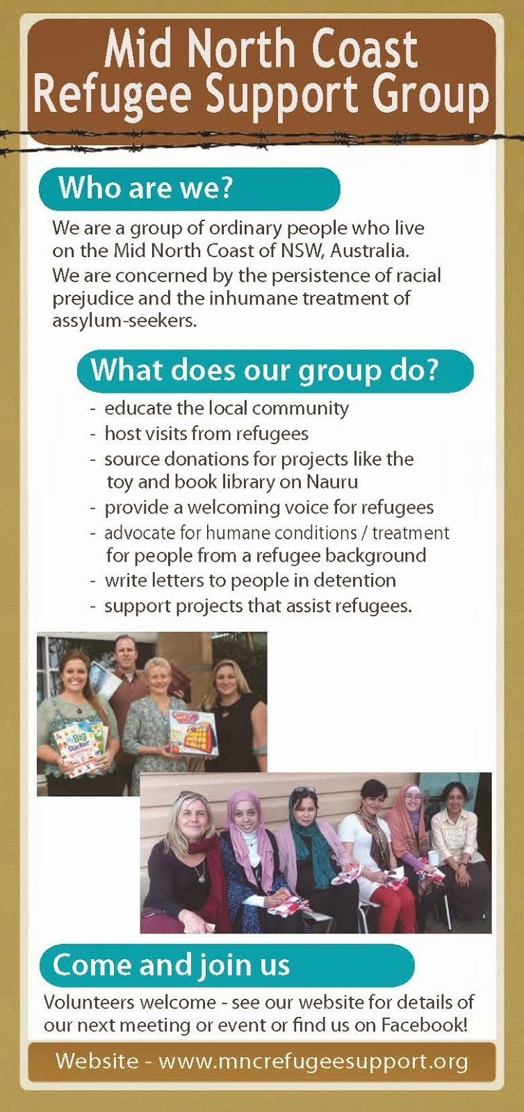 MNC Refugee Support Group