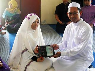 pmiusm, kahwin, pengantin muslimah,