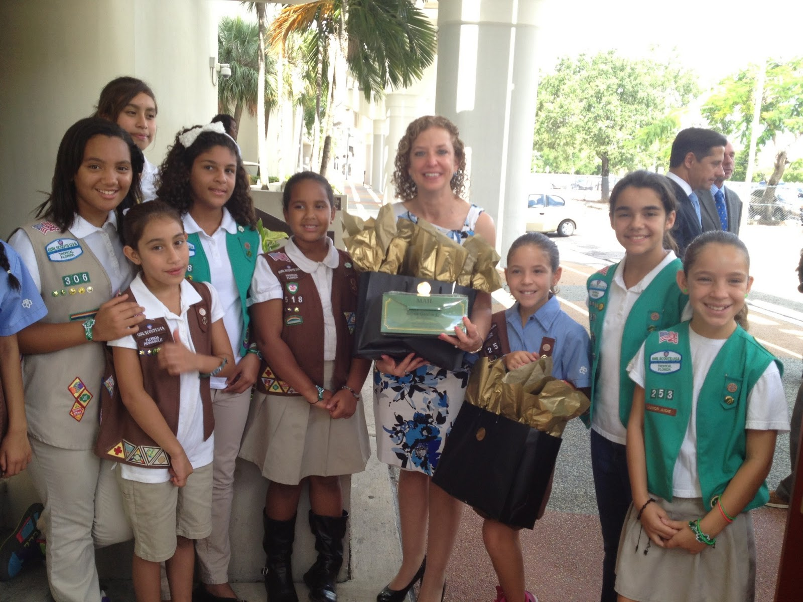 girl scouts of tropical florida highlighted at