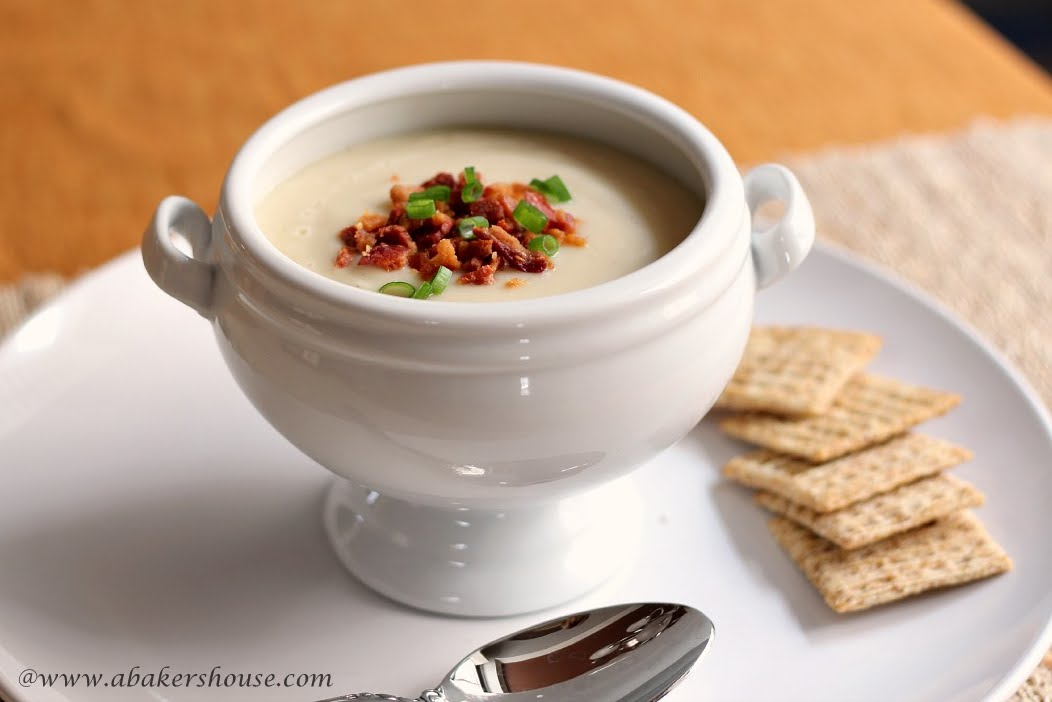bacon and garlic cauliflower romano and garlic soup roasted garlic ...