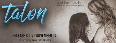 Talon by Carian Cole Release Day Blitz #newrelease #talon #cockstar @CarianCole