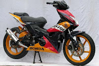 MODIFIKASI-HONDA BLADE MODIFIKASI