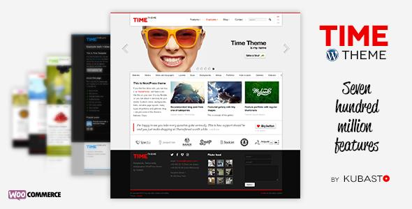 Time v2.4.4 – Responsive WordPress Theme