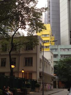香港出張 上環