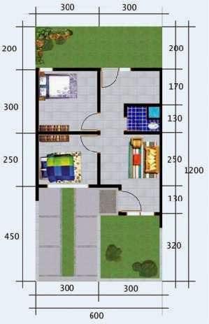 Denah Rumah 36