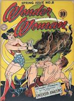 Wonder Woman #8 cover