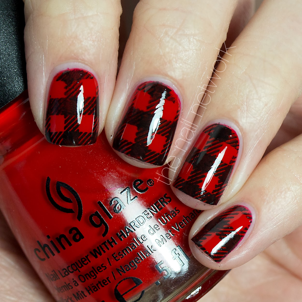 Magnificent Nail Polish To Wear With Red Dress Thin Shades Of Purple Nail Polish Clean Cutest Nail Art How To Start My Own Nail Polish Line Young Foot Nails Fungus GrayWhere To Buy Opi Gelcolor Nail Polish The Nail Network: TDOCNAS: Day 2: Buffalo Plaid Nail Art