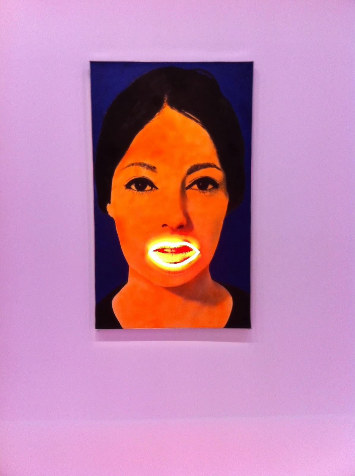 Raysse, Peinture à haute  tension, 1965