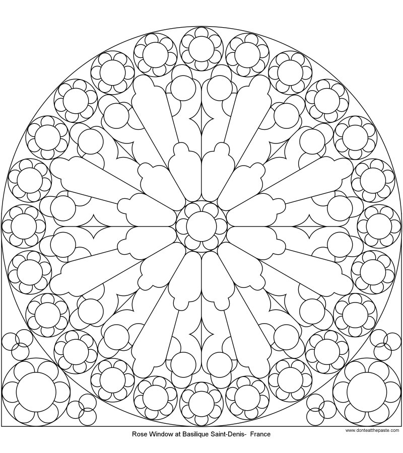 Don 39 t Eat the Paste Rose Window