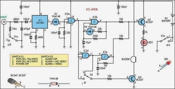Video Tracer Circuit Diagram