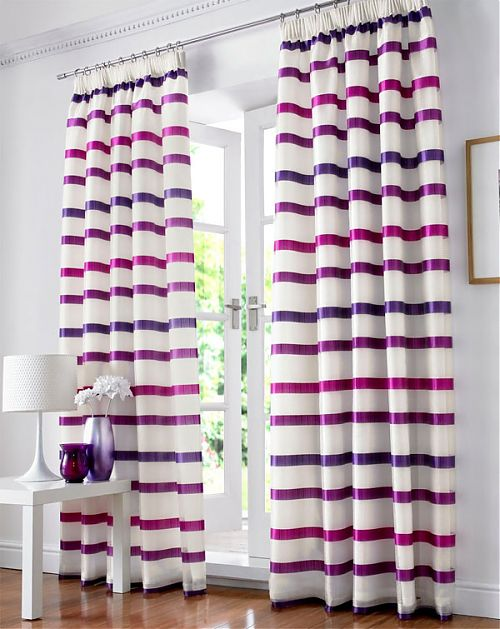 New Modern Voile Curtains Design Ideas 2011 | Interior Design Ideas