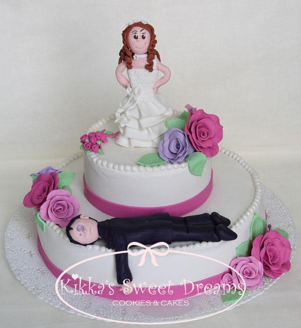 Cake Design Ulm : Kikka s Sweet Dreams: Torta di addio al nubilato...