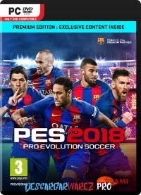 PRO EVOLUTION SOCCER 2018 PC FULL