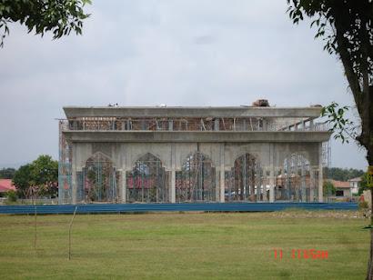 <b>Diperingkat awal bagi struktur bangunan Masjid Matang jaya<b></b></b>