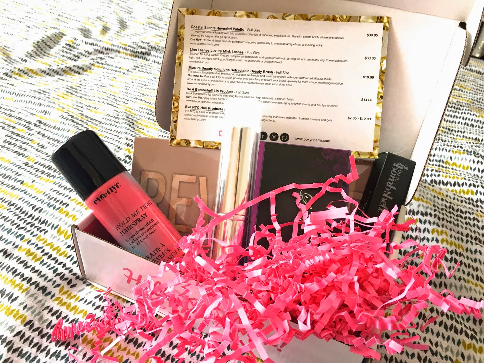 boxycharm, boxycharm subscription box, cute, make up review, reviews on boxycharm, subscription box review,