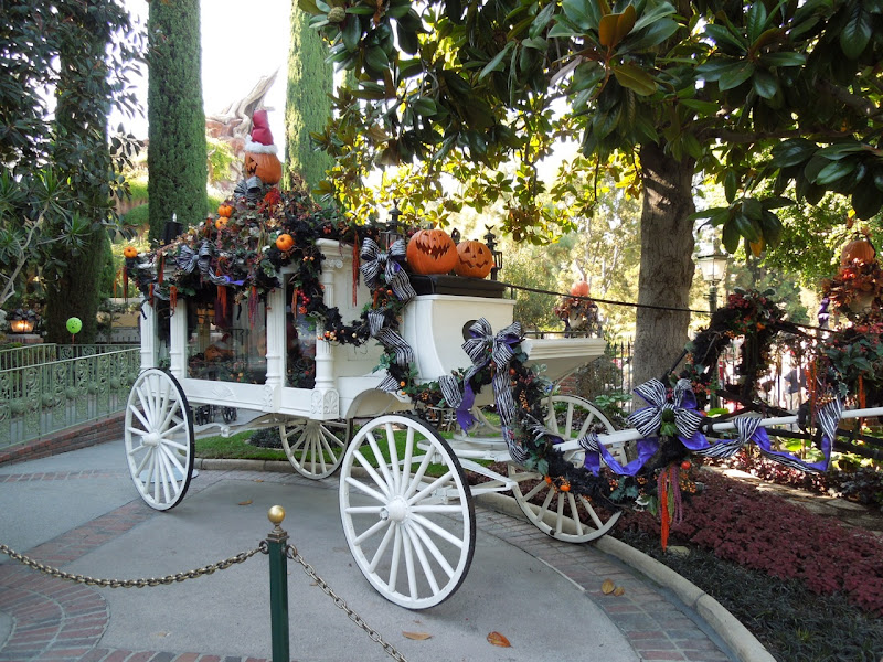 Disneyland Halloween Haunted Mansion carriage