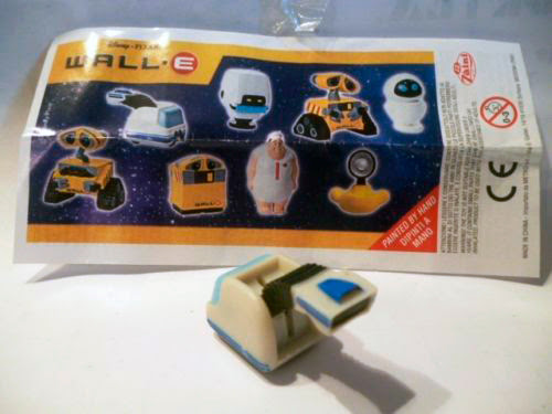 figura kinder wall-e
