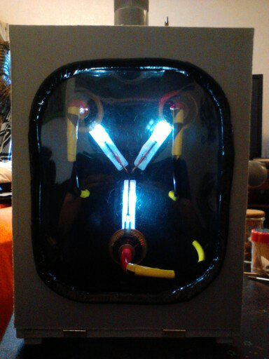 Crafts Of The Living Dead  Diy Back To The Future Flux Capacitor Replica