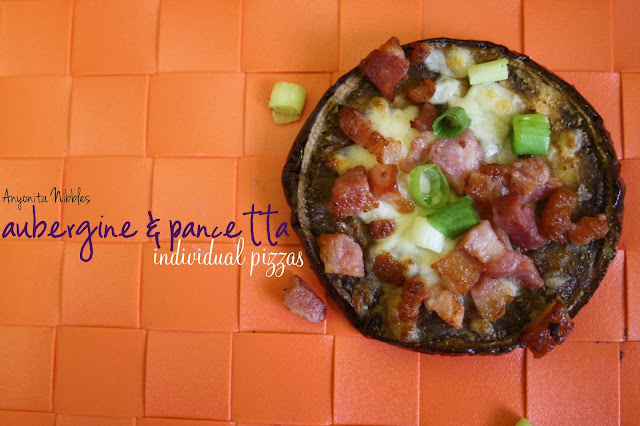 Aubergine & Pancetta Individual Pizza