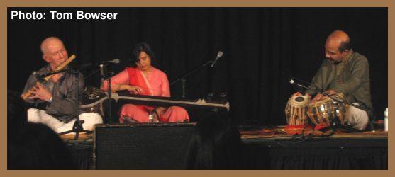 Lyon Leifer - Bansuri - Subhasis Mukherjee - Tabla - Ragamala - Chicago World Music Festival