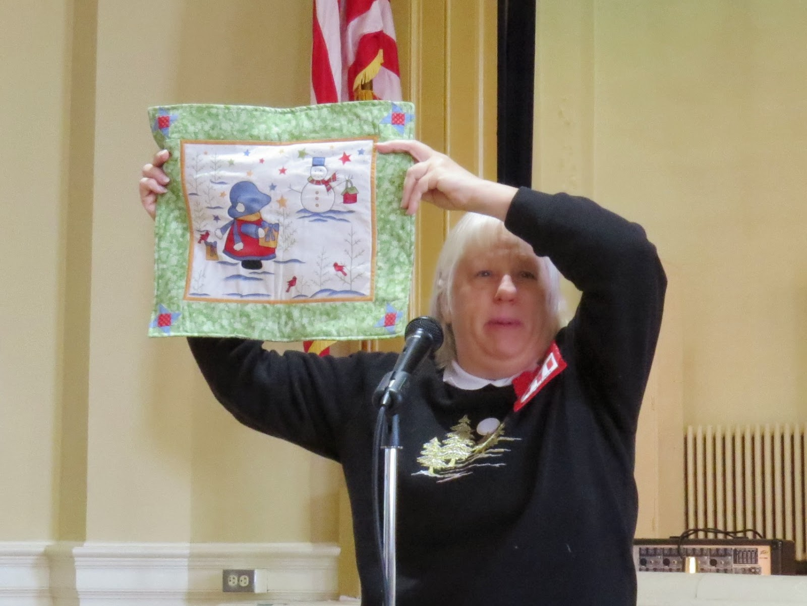 Museum Quilt Guild November Was Demo Derby Day