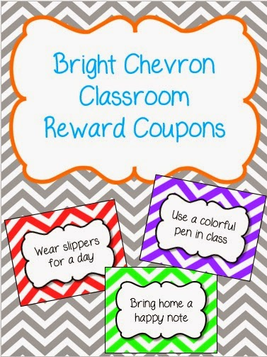 http://www.teacherspayteachers.com/Product/Bright-Chevron-Classroom-Reward-Coupons-1649067