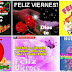 Hermoso VIERNES - Las mas bonitas tarjetas y postales gif animadas, con mensajes y frases de aliento y esperanza.