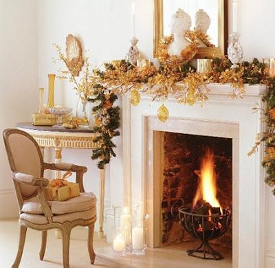 Chimeneas navide as ideas para decorar dise ar y - Chimeneas para decorar ...