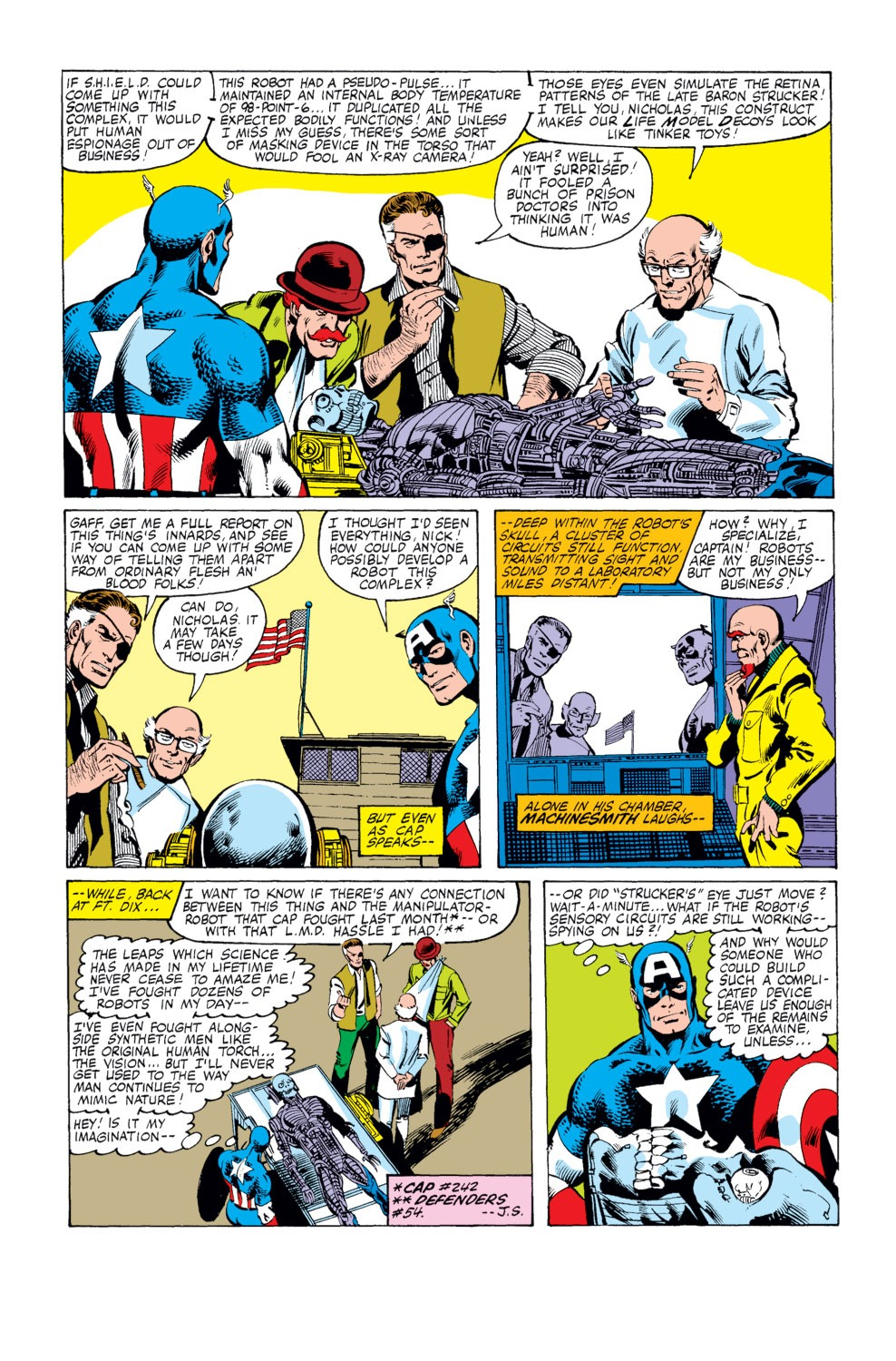 Captain America (1968) Issue #248 #163 - English 3
