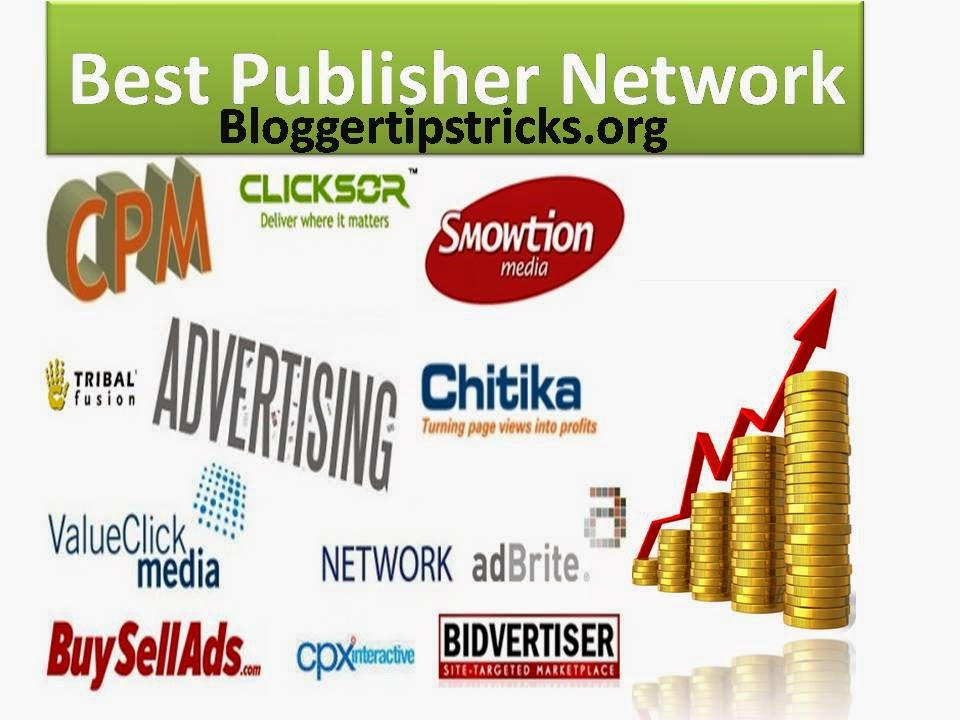 Best Cpm Cpc Cpa Ads Publisher Networks Earn Money From Per Page