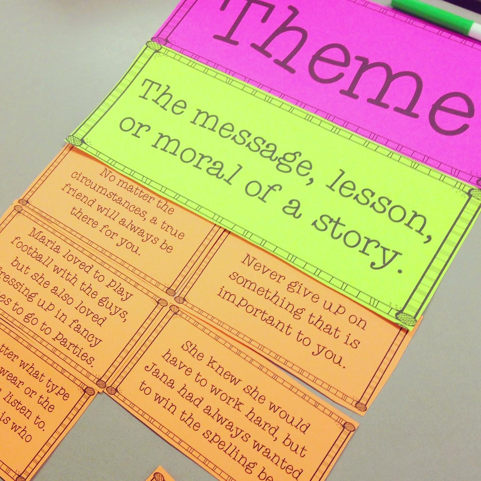 teaching theme life in fifth grade