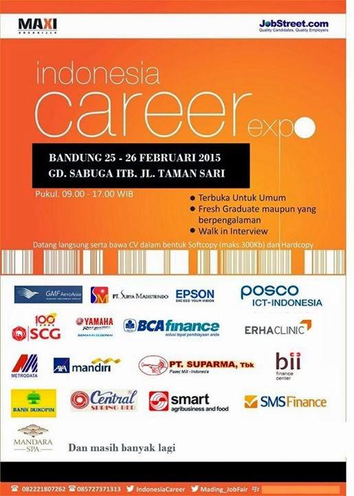 INDONESIA CAREER EXPO FEBRUARI 2015 BANDUNG