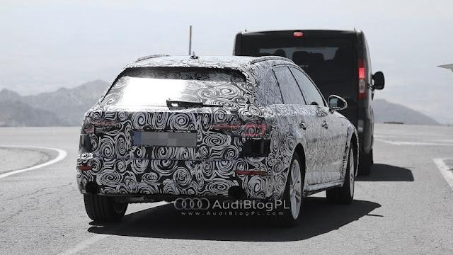 SpyShot Audi A4 allroad quattro B9