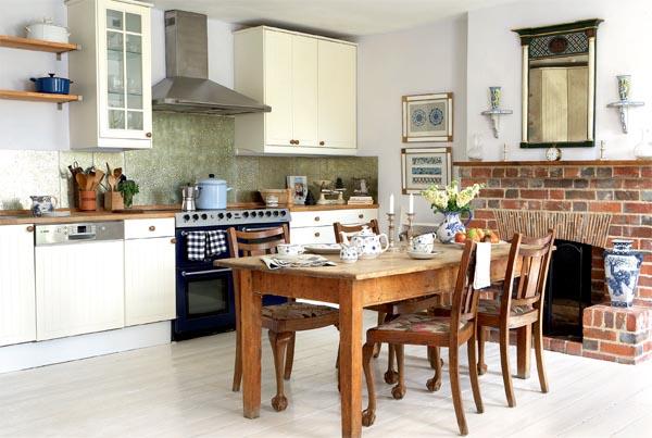 decorar cozinha rustica:Já perceberam o detalhe super repetido né? As panelas e colheres
