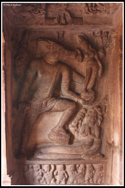 Vishu's form of Varaha